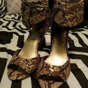 Fergalicious heels-NWT